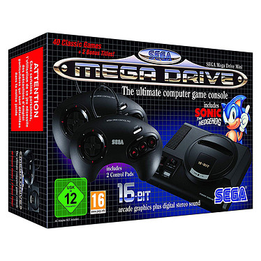 Sega Mega Drive Mini Console Mega Drive Mini avec 42 jeux préinstallés