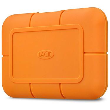 LaCie Rugged USB-C SSD 2 To Disque dur externe SSD antichoc 2.5'' sur port USB 3.2 Gen 2 Type C - Inclus 5 ans de services Rescue (garantie constructeur 5 ans)