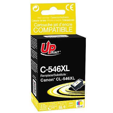 UPrint C-546XL Cartouches d'encre multicolore (CMJ) compatible Canon CL-546XL