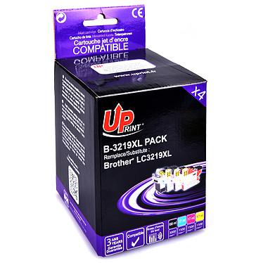 UPrint B-3219XL Pack Pack de 4 cartouches d'encre (Noir, Cyan, Magenta, Jaune) compatible Brother LC3219XL