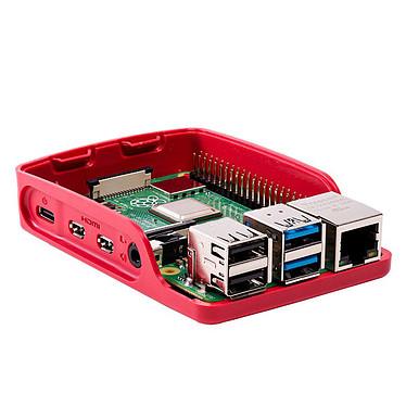 Avis Raspberry Pi 4 Starter Kit 4 Go (blanc/rouge)