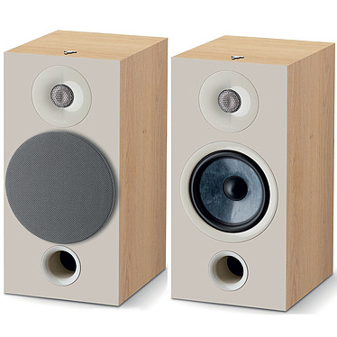 Denon DRA-800H Argent + Focal Chora 806 Light Wood pas cher