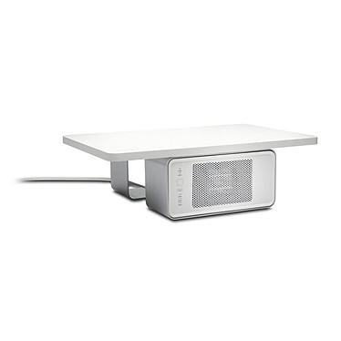 Kensington Support pour écran WarmView avec radiateur en céramique Support pour moniteur TFT/LCD jusqu'à 27 pouces ou 90.7 Kg avec radiateur en céramique - Blanc