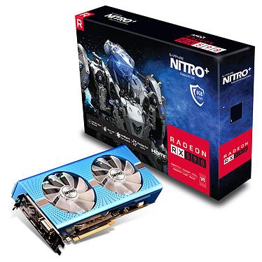 Sapphire NITRO+ Radeon RX 590 8GD5 8 Go GDDR5 -  DVI/Dual HDMI/Dual DisplayPort - PCI Express (AMD Radeon RX 590)