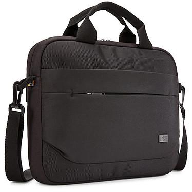 """Case Logic ADVA-111 (Noir) Sacoche pour ordinateur portable (11.6"""" maximum) avec poche dédiée pour tablette (10.1"""" maximum)"""