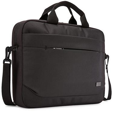 """Case Logic ADVA-114 (Noir) Sacoche pour ordinateur portable (14"""" maximum) avec poche dédiée pour tablette (10.1"""" maximum)"""
