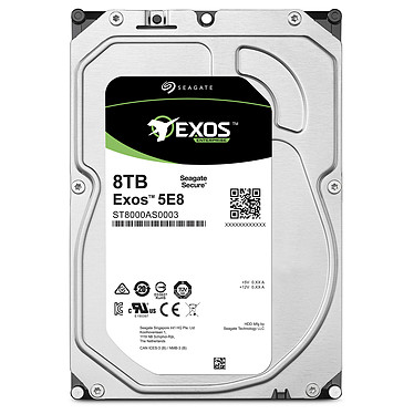 Acheter Seagate Exos 5E8 HDD 8 To (ST8000AS0003)