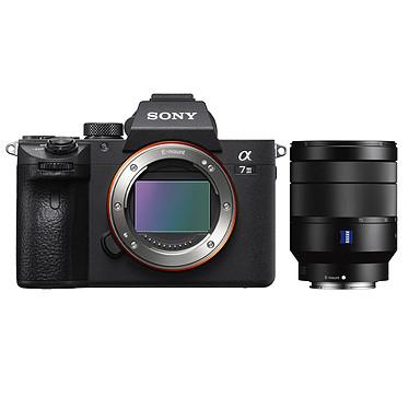 "Sony Alpha 7 III + 24-70 mm Appareil photo hybride plein format 24.2 MP - Ecran 3"" tactile inclinable - Viseur OLED XGA - Vidéo 4K - Wi-Fi - Bluetooth - NFC + Objectif FE 24-70mm f/4 OSS Zeiss"