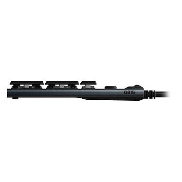 Logitech G815 Carbone (Tactile Version) pas cher