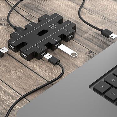 Avis Mobility Lab Hub 10 ports USB 2.0