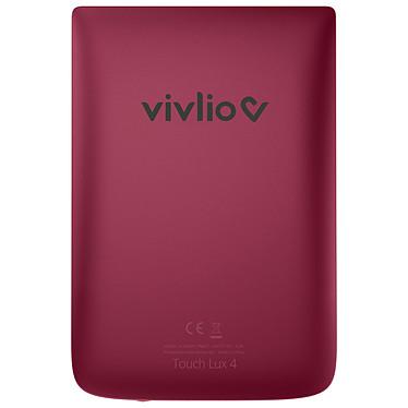 Acheter Vivlio Touch Lux 4 Rouge + Pack d'eBooks OFFERT + Housse Noire