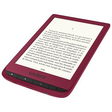 Avis Vivlio Touch Lux 4 Rouge + Pack d'eBooks OFFERT + Housse Noire