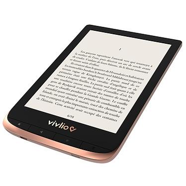 Avis Vivlio Touch HD Plus Cuivre/Noir + Pack d'eBooks OFFERT + Housse Chinée Dorée