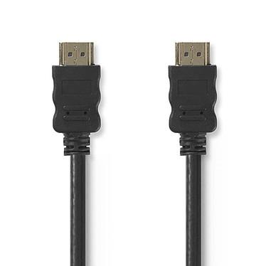 Nedis câble HDMI + Ethernet mâle/mâle (25 m) Câble optique HDMI 2.0 4K 30 Hz - Connecteurs plaqués or - 25 mètres