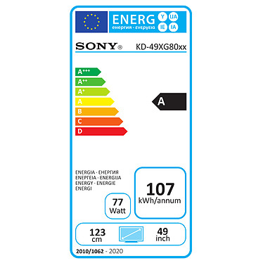Comprar Sony KD-49XG8096