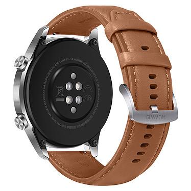 Huawei Watch GT 2 (46 mm / Cuir / Marron) pas cher