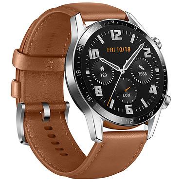 Avis Huawei Watch GT 2 (46 mm / Cuir / Marron)