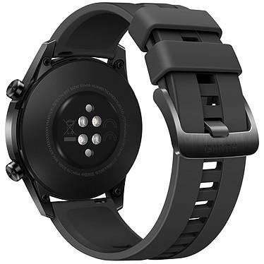 Huawei Watch GT 2 (46 mm / Fluoroélastomère / Noir) pas cher