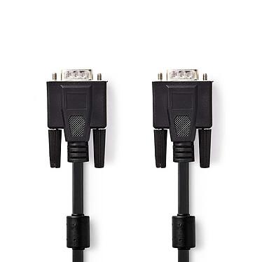 Câble VGA HD mâle / mâle (2 m) Cordon VGA - VGA Mâle - VGA Mâle - 2 m - Noir