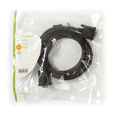 Opiniones sobre Cable VGA HD macho / macho (3 m)