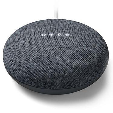 Google Nest Mini Charbon Enceinte sans fil Wi-Fi et Bluetooth à commande vocale avec Assistant Google
