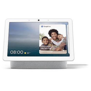 """Google Nest Hub Max Galet Enceinte sans fil - écran tactile 10"""" - appareil photo de 6.5 MP - enceintes stéréo - Wi-Fi/Bluetooth - commande vocale avec Assistant Google"""