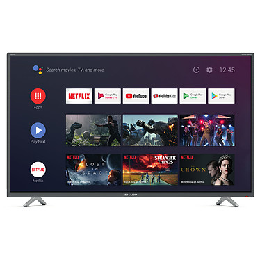 "Sharp 40BL2EA Téléviseur LED 4K Ultra HD 40"" (102 cm) - 3840 x 2160 pixels - Ultra HD - HDR - Android TV - Wi-Fi - Bluetooth - Harman/Kardon - 600 Hz"