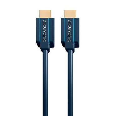 Clicktronic câble Ultra High Speed HDMI (2 mètre)