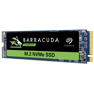 Seagate SSD BarraCuda 510 M.2 PCIe NVMe 256 Go (ZP256CM30041) SSD 256 Go M.2 NVMe 1.3 - PCIe 3.0 x4