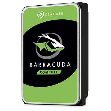 "Seagate BarraCuda 4 To (ST4000DM004) Disque dur 3.5"" 4 To 5400 RPM 256 Mo Serial ATA 6 Gb/s (bulk)"