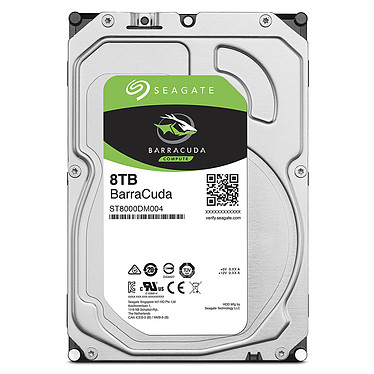 Seagate BarraCuda 8 To (ST8000DM004) pas cher