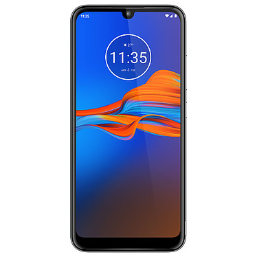 "Motorola Moto e6 Plus Gris Smartphone 4G-LTE - Helio P22 Octo-Core 2.0 Ghz - RAM 4 Go - Ecran tactile 6.1"" 720 x 1560 - 64 Go - Bluetooth 4.2 - 3000 mAh - Android 9.0"