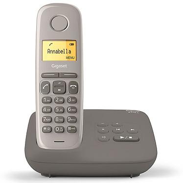 Gigaset AL170A Taupe Téléphone sans fil avec répondeur