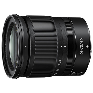 Nikon NIKKOR Z 24-70 mm f/4 S Zoom transtandard professionnel