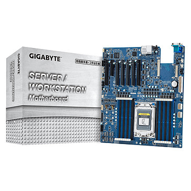 Gigabyte MZ32-AR0 Carte mère E-ATX Socket SP3 - 16 x DDR4 - SATA 6Gb/s - M.2 - USB 3.0 - 4 x PCI-Express 4.0 16x