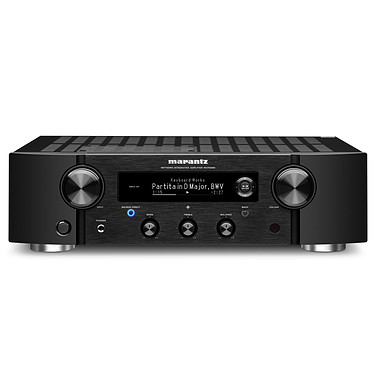 Marantz PM7000N Noir Amplificateur stéréo intégré 2 x 60 Watts - Hi-Res Audio - Wi-Fi/Bluetooth/DLNA - Ethernet - Multiroom - AirPlay 2