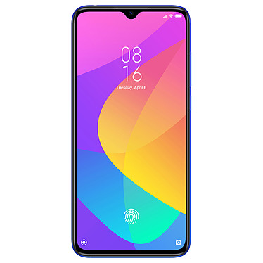 "Xiaomi Mi 9 Lite Bleu (128 Go) Smartphone 4G-LTE Advanced Dual SIM - Snapdragon 710 Octo-Core 2.2 GHz - RAM 6 Go - Ecran tactile AMOLED 6.39"" 1080 x 2340 - 128 Go - NFC/Bluetooth 5.0 - 4030 mAh - Android 9.0"