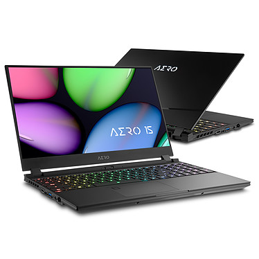 "Gigabyte Aero 15 XA-7FR2130SH Intel Core i7-9750H 16 Go SSD 512 Go 15.6"" Full HD 240 Hz NVIDIA GeForce RTX 2070 8 Go Wi-Fi AX/Bluetooth Webcam Windows 10 Famille 64 bits"