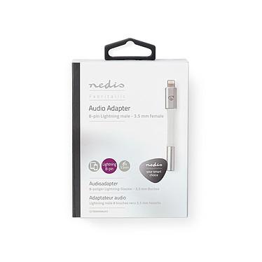 Acheter Nedis Adaptateur Audio Lightning vers mini-jack 3,5 mm