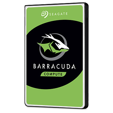 "Seagate BarraCuda 5 To (ST5000LM000) Disque dur 2.5"" 5 To 5400 RPM 128 Mo Serial ATA 6 Gb/s (bulk)"