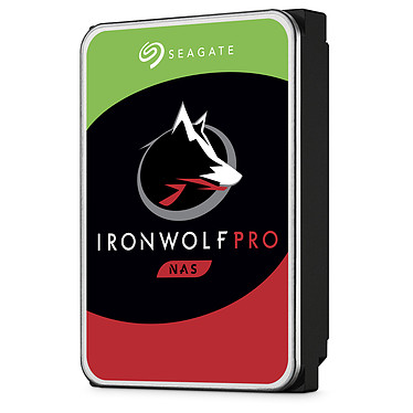 "Seagate IronWolf Pro 12 To (ST12000NE0008) Disque dur 3.5"" 12 To 7200 RPM 256 Mo Serial ATA 6 Gb/s pour NAS 512e (bulk)"
