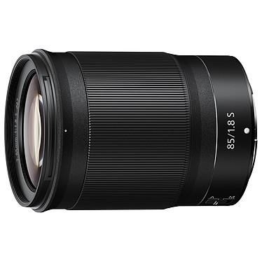 Nikon NIKKOR Z 85mm f/1.8 S Téléobjectif plein format focale fixe 85mm f/1.8 monture Z pour portraits