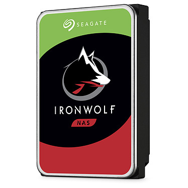 "Seagate IronWolf 10 To (ST10000VN0004) Disque dur 3.5"" 10 To 7200 RPM 256 Mo Serial ATA 6 Gb/s pour NAS (bulk)"
