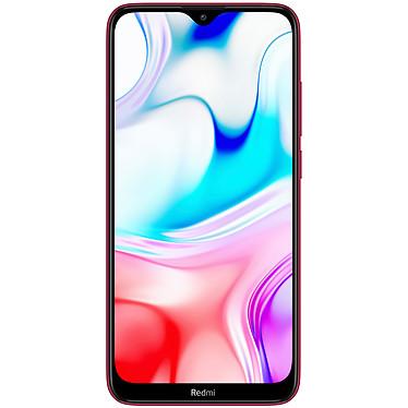 "Xiaomi Redmi 8 Rouge (3 Go / 32 Go) Smartphone 4G-LTE Dual SIM - Snapdragon 439 8-Core 2.0 GHz - RAM 3 Go - Ecran tactile 6.22"" 720 x 1520 - 32 Go - NFC/Bluetooth 4.2 - 5000 mAh - Android 9.0"