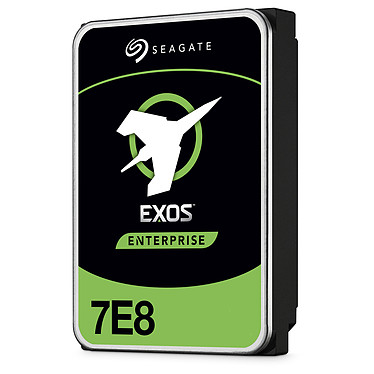 "Seagate Exos 7E8 3.5 HDD 2 To (ST2000NM0045) Disque dur serveur 3.5"" 2 To 7200 RPM 128 Mo SAS 12Gb/s 512n (bulk)"