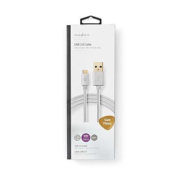 Nedis Câble USB-A vers micro-USB-B - 3 m pas cher