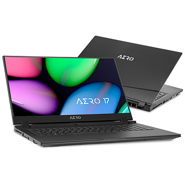 "Gigabyte Aero 17 SA-7FR1130SO Intel Core i7-9750H 16 Go SSD 512 Go 17.3"" LED Full HD 144 Hz NVIDIA GeForce GTX 1660 Ti 6 Go Wi-Fi AX/Bluetooth Webcam Windows 10 Famille 64 bits"