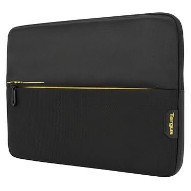 """Targus CityGear 3 Sleeve 14"""" Noir Etui matelassé pour ordinateur portable (jusqu'à 14"""") et tablette"""