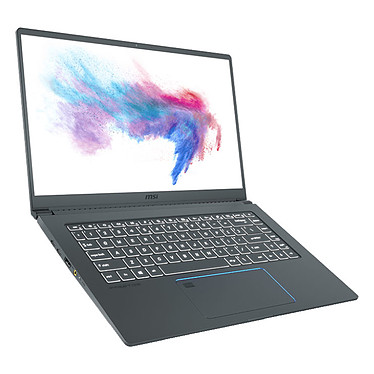 "MSI Prestige 15 A10SC-215XFR Intel Core i7-10710U 8 Go SSD 512 Go 15.6"" LED Full HD NVIDIA GeForce GTX 1650 4 Go Wi-Fi AX/Bluetooth Webcam FreeDOS"