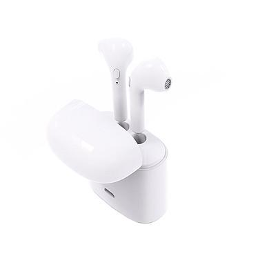 KSIX Auriculares inalámbricos (BXAUTW02) Auriculares inalámbricos - Bluetooth 5.0 - Duración de la batería 4h - Micrófono - Cargador/maleta de transporte